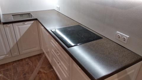 Угловая столешница для кухни из камняGrandexA-418 Oak Wood