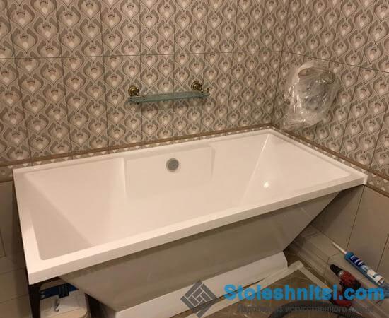 Акриловая ванна – превосходный и заметный элемент в ванной комнате