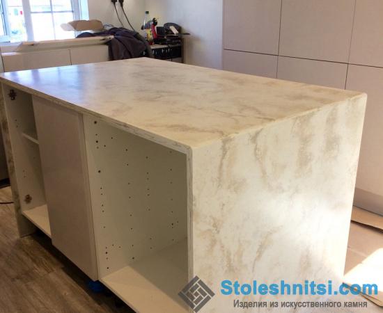 Стол из искусственного камня Staron Supreme VD175 Daindelion