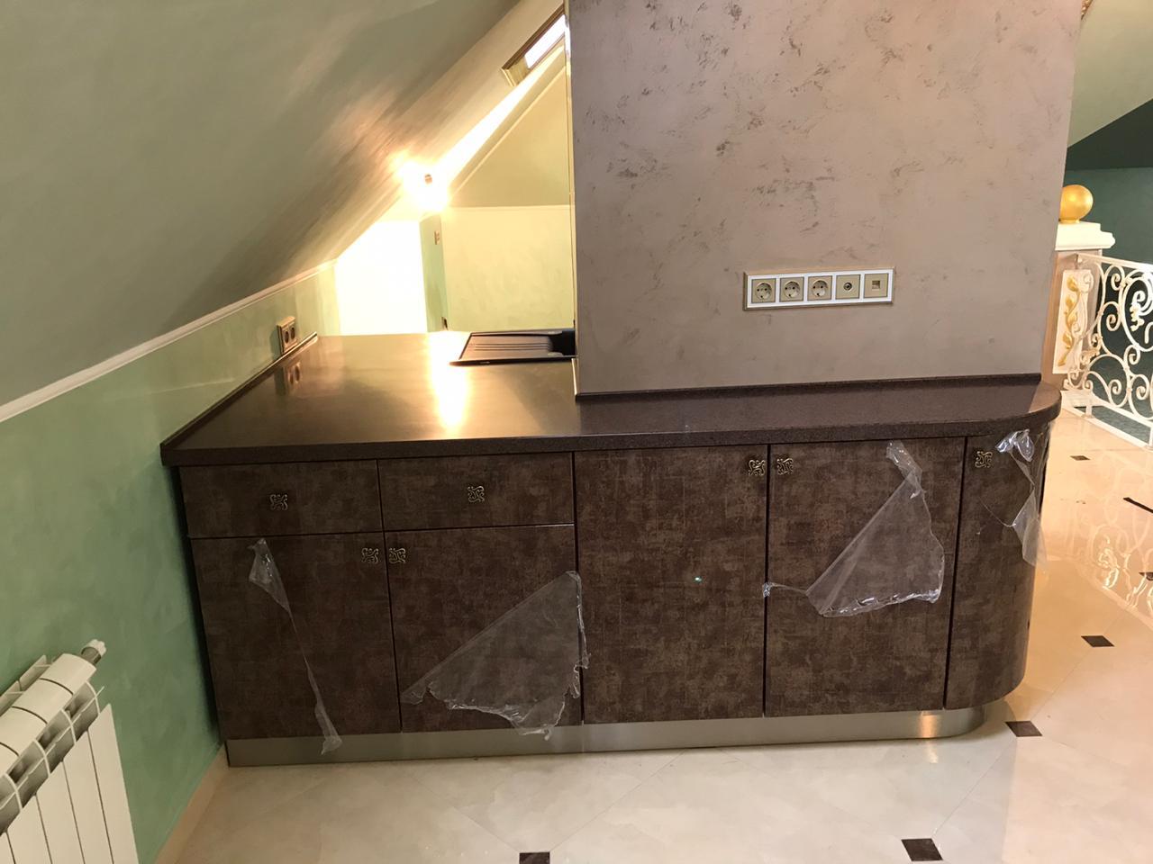Стол из искусственного камня Tempest FB154 Bronzestar
